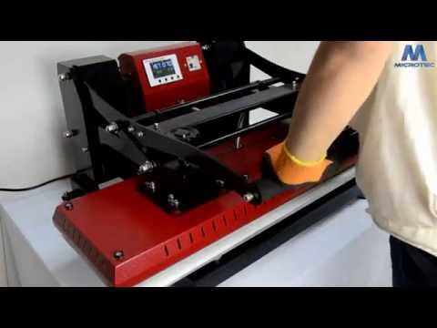 New Auto Open Lanyard Heat Press Machine from Microtec