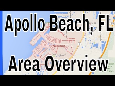 Homes for Sale in Apollo Beach FL - Overview of Apollo Beach by Lance Mohr