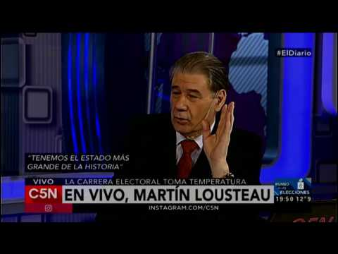C5N - El Diario: Entrevista a Martin Lousteau