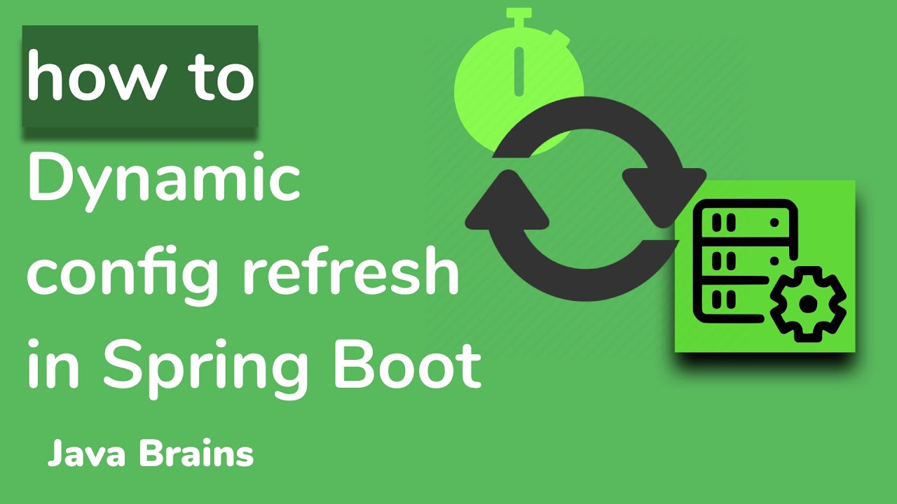 Dynamic Config with Spring Boot - Microservice Configuration with Spring Boot [13]