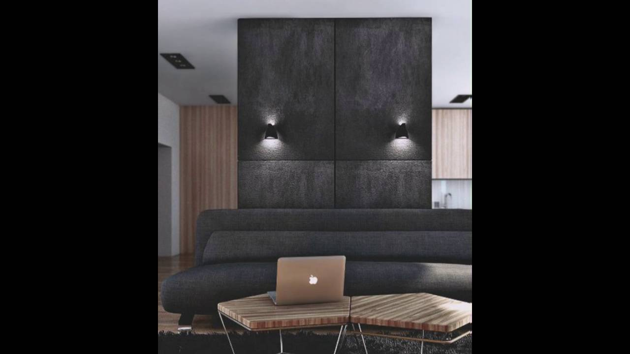 Stilvolles Interieur Feine Mobel Wandfarbe Anthrazit Youtube