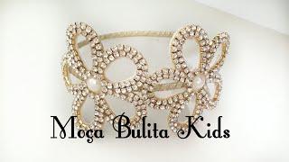 Arco com flores em Strass por Janaína Gonçalves Moça Bulita Kids