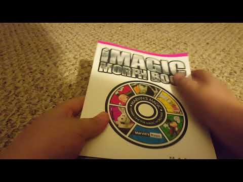 Marvin's Magic i-magic Set: How to Perform The Apearing Money And Morph Book Trick.