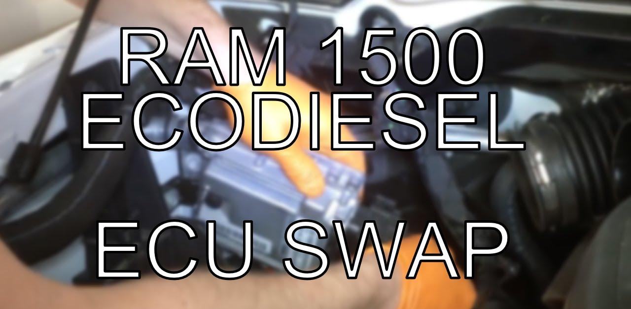 Ram 1500 EcoDiesel ECU Removal
