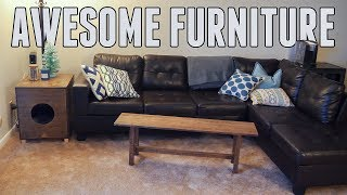 Building Awesome Apartment Furniture for CHEAP!!