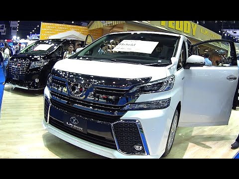 2016 2017 Toyota Vellfire Best Luxury Van You