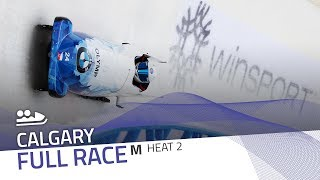 Calgary | BMW IBSF World Cup 2018/2019 - 2-Man Bobsleigh Heat 2 | IBSF Official