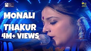 Monali Thakur - Tumi Robe Song | Taal : Ektaal | Idea Jalsa