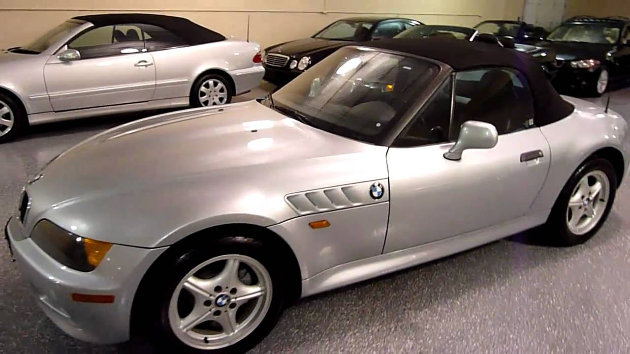 1997 Bmw Z3 2dr Roadster 1 9l 2003 Sold Youtube