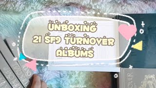 Unboxing 21 SF9 에스에프나인 Turnover Albums
