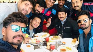 Manoj Tiwari और Ravi Kishan की टीम में भिड़ंत .. जानिए कौन जीता ?