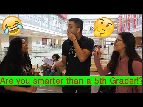 Are you smarter than a 5th Grader?! || University of Houston Edition