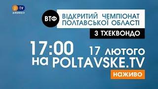 Відкритий чемпіонат Полтавської області з тхеквондо