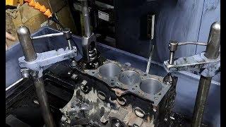 (Ölmüş) Yağ Yakan 2.EL Motoru SIFIR MOTORA Çevirdik !! (Rektefiye-Honlama-Taşlama-Parlatma)