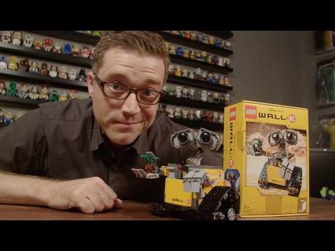 WALL·E - Interview With LEGO Ideas Fan Designer Angus MacLane