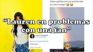 ¿Camila borra su foto por amiga de Lauren? - Discucion en twitter