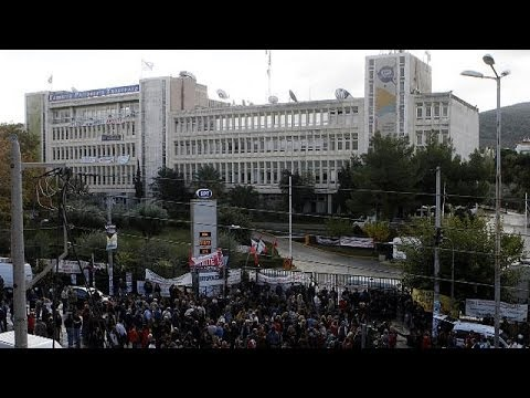 Greek police end five-month occupation of former national TV building