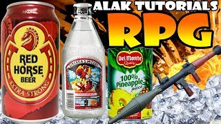 OKTOBERFEST MIX RPG (Red Horse + Pineapple Juice) Pinoy Cocktail | Alak Tutorials 130