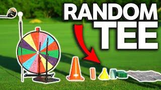 Random Golf Tee Challenge | Wheel Of Not Ideal