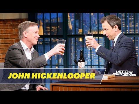 Colorado Governor John Hickenlooper on His Beer-Brewing Past