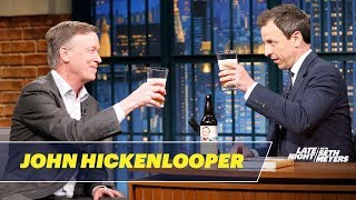 Colorado Governor John Hickenlooper on His Beer-Brewing Past