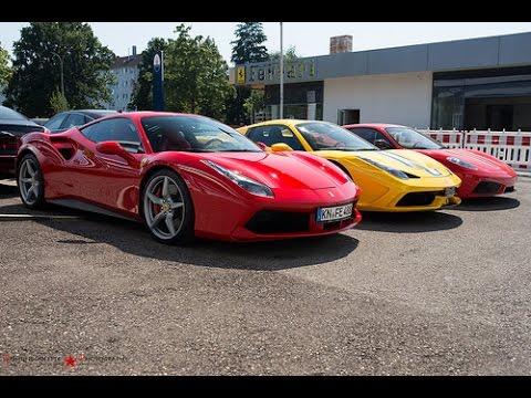 ferrari f430 vs ferrari 458 italia vs ferrari 488 gtb