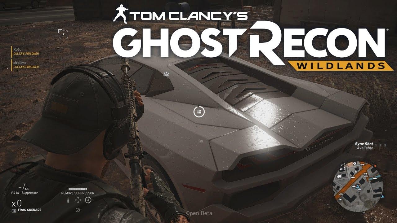 Ghost Recon Wildlands Lamborghini Super Car Location Youtube