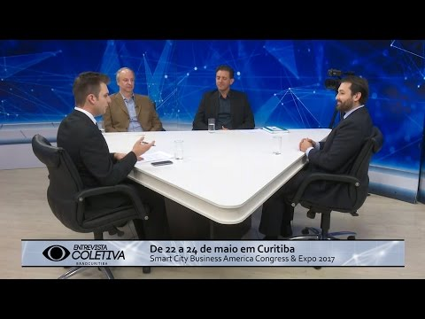 Entrevista Coletiva especial Smart City Business America Congress & Expo 2017