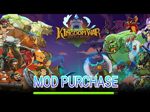 Game Castle Kingdom : Crush In Free (Kingdom War : Battle Royal) Mod Purchase