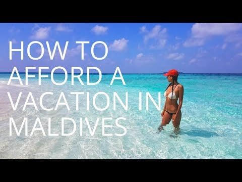 HOW TO TRAVEL IN MALDIVES ON A BACKPACKERS BUDGET
