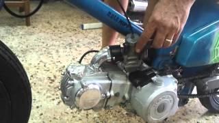 takegawa 4 valve 150cc moto hippy