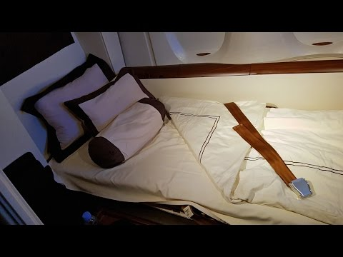 Singapore Airlines First Class Suites A380: SQ Part 4