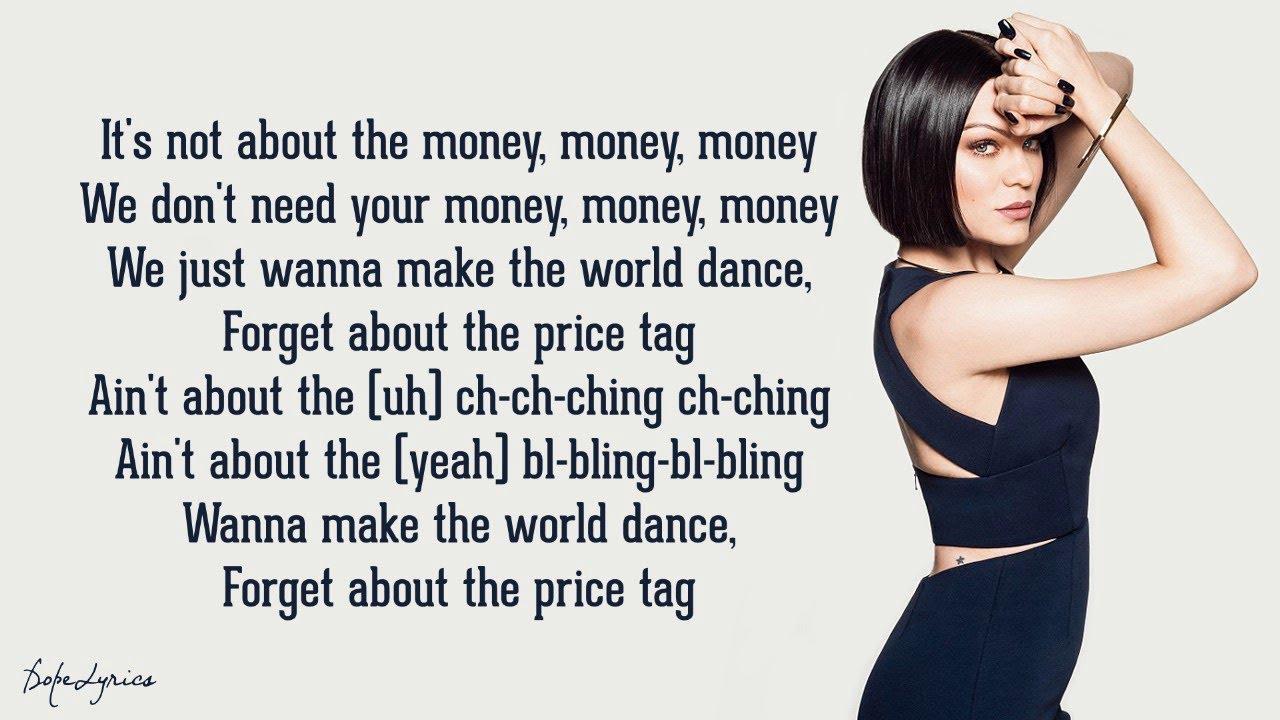 Jessie J  Price Tag Lyrics feat BoB