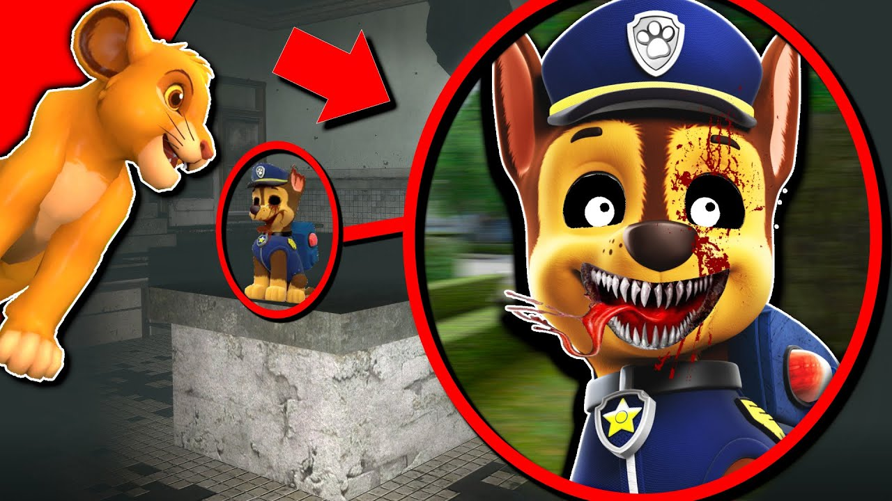 Cursed PAW PATROL will give you NIGHTMARES.. 🐕 (RUN!)