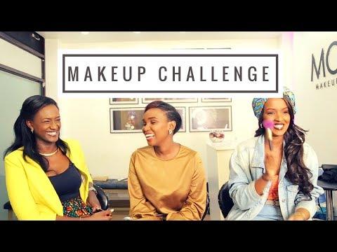 5 min Makeup Challenge - E&L X MONA