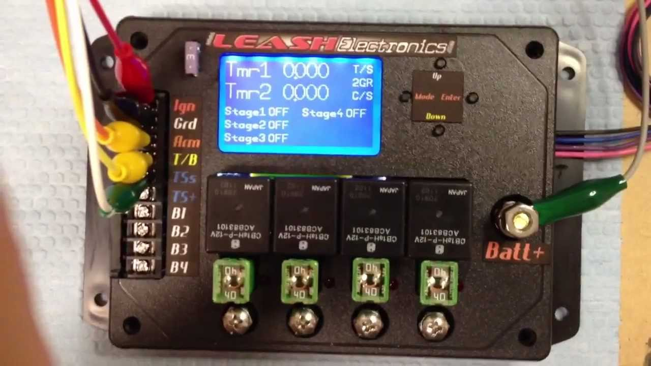 new promod 4 stage nitrous timer youtube rh youtube com nitrous wiring board nitrous oxide wiring diagram [ 1280 x 720 Pixel ]