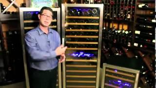 Nfinity Pro Dual Zone Wine Cellars
