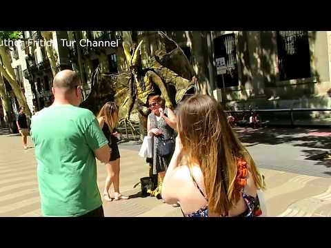 Visit La Rambla Barcelona Spain