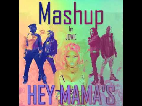 「 David Guetta vs Black Eyed Peas - HEY MAMA 」 ⚡ 【Mashup Jowie】 @Jowie_Diaz