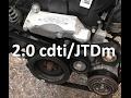 How to replace drive v-ribbed belt on 2.0 cdti/JTDm, Zafira, Astra, Insignia, Alfa Romeo, Lancia