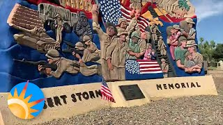 Arizona monuments secure for now as veteran groups and protesters demand removal