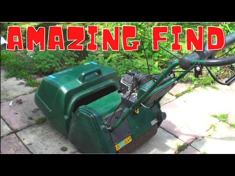 Atco Balmoral 17s Lawnmower Found At Auction