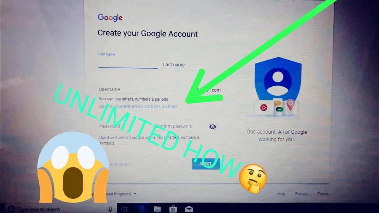 How To Create Unlimited Gmail Accounts | Without Phone Number Verification  2018
