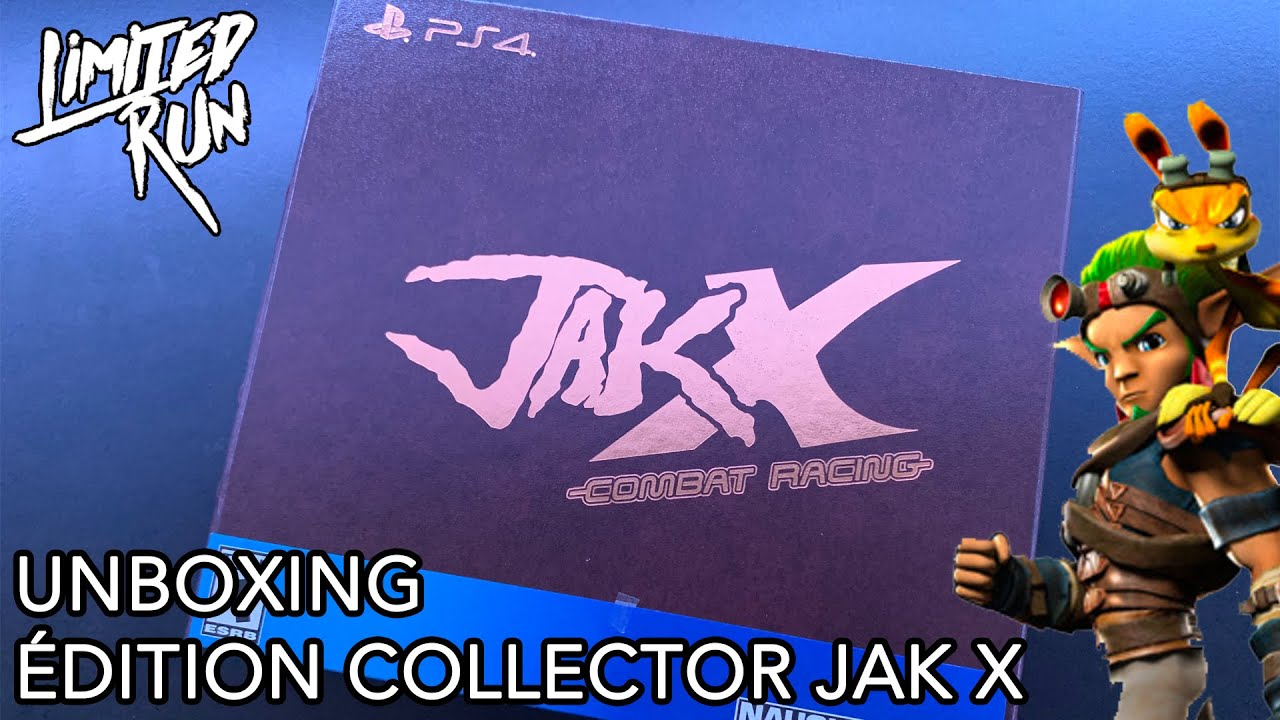 [UNBOXING] JAK X – COLLECTOR'S EDITION (PS4)