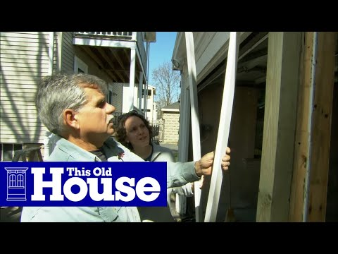 How to Replace a Rotted Garage Door Post  This Old House  YouTube