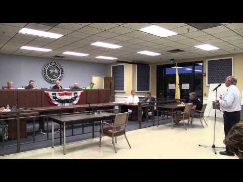 Lower Township Council Meeting 8 17 2015 (Technical problem w/audio first 20 minutes)