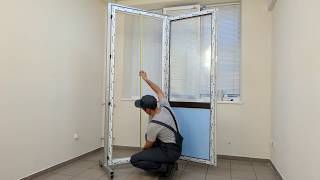 Устранение неполадок балконной двери3