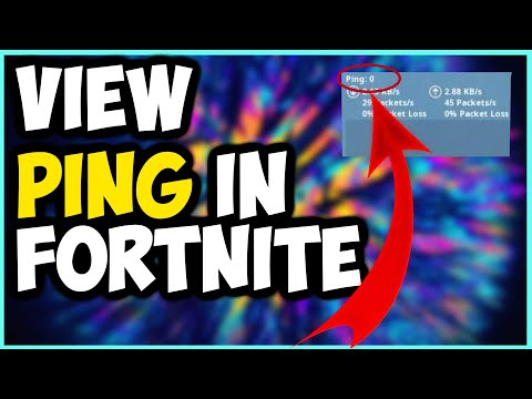 How To See Your Ping In Fortnite Chapter 2 (2020)!!!