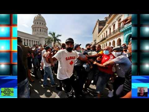 """JOE BIDEN DIZ QUE PROTESTOS EM CUBA SÃO """"UM APELO A LIBERDADE"""""""