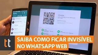 Como ficar invisível no WhatsApp Web